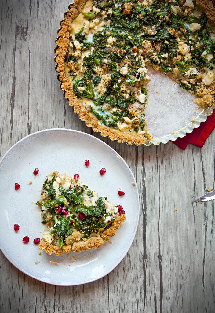 Green Kale Pie