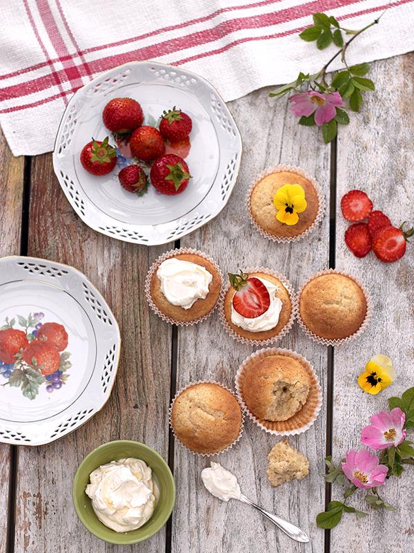 muffins på bönor