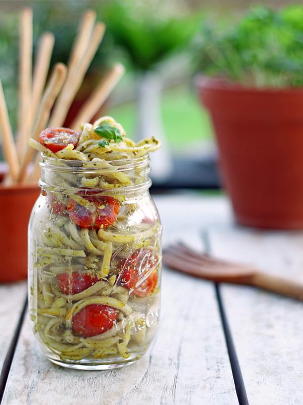 Vegetariska pasta recept