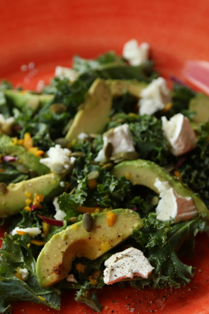 greenkale salad