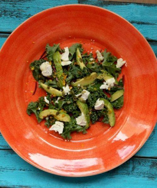 greenkale salad