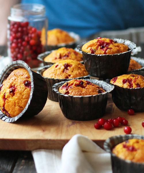 saffron muffin