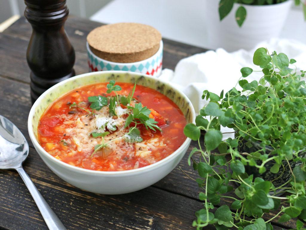 Vegetarisk soppa