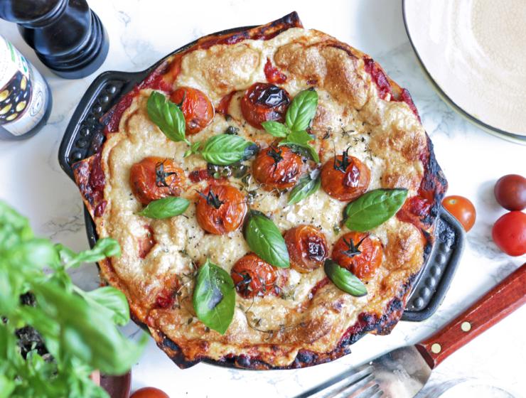 vegansk lasagne